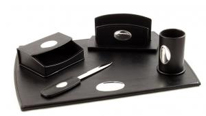 Cadou Set de Birou Corporate Leather by Valenti - Made in Italy0