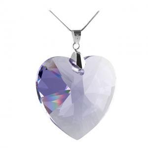 Pandantiv Borealy 40mm Violet Heart
