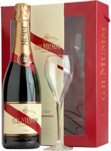 Sampanie MUMM Cordon Rouge Set cadou cu 2 pahare1