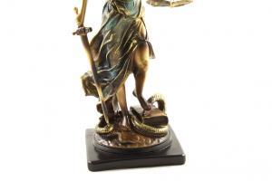 """Statueta """"Zeiţa Justiţiei"""" Gold 59 cm [2]"""