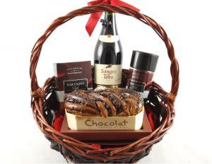Sangre de Toro Luxury Gift Basket & Butoni Barbati4