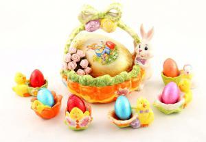 Happy Easter Cos Paste ceramica0