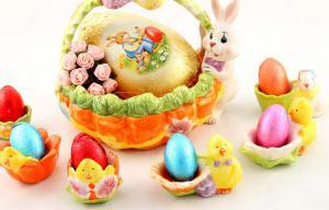 Happy Easter Cos Paste ceramica1