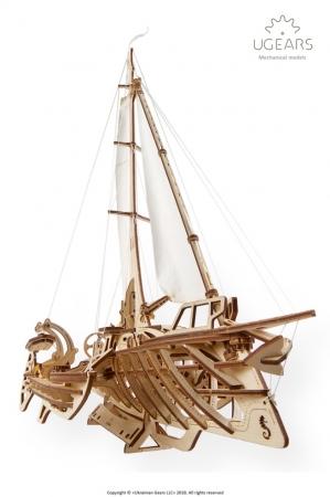 Barca Trimaran Puzzle 3D Mecanic [1]