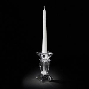Sfeșnic din cristal CANDELABRO SINGOLO GLITTER