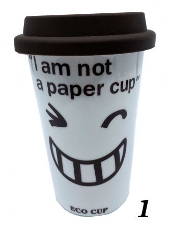 """Cana Eco """"I am not a paper cup""""0"""