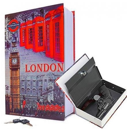 Carte Seif London Mare 26,5 x 20 x 6,5 cm [0]