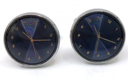 Ceas Date Element Navy Christian Lacroix si Butoni Azure Clock by Borealy Desk2