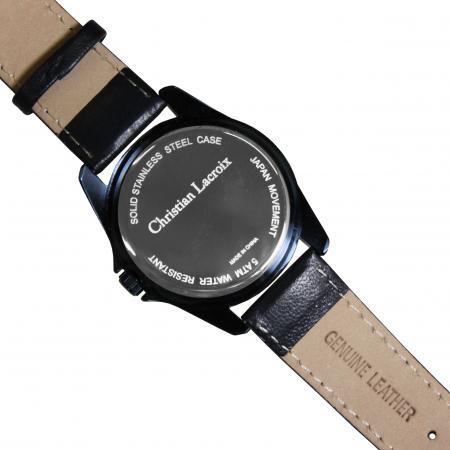 Ceas Date Element Navy Christian Lacroix si Butoni Azure Clock by Borealy Desk4