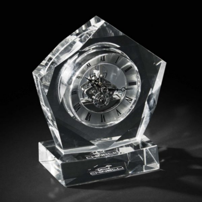Ceas Crystal Luxury Pentagon by Chinelli - Made in Italy0