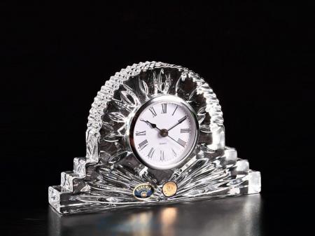 Ceas de masa din Cristal de BOHEMIA - 19 cm [1]