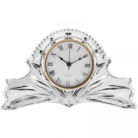 Ceas de masa din Cristal de BOHEMIA - 19 cm [0]