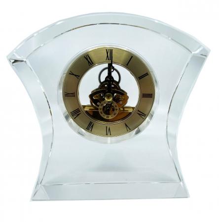 Ceas de birou din cristal0