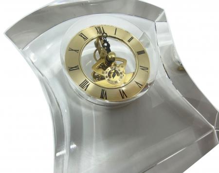 Ceas de birou din cristal2