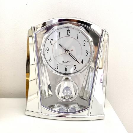 Ceas de Birou Silver cu pendul Crystal [1]