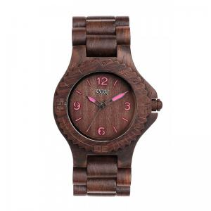 Choco Pink Wood Watch for Women - Ceas 100% din Lemn Lucrat Manual1