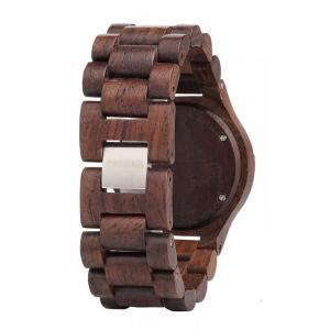 Choco Pink Wood Watch for Women - Ceas 100% din Lemn Lucrat Manual2