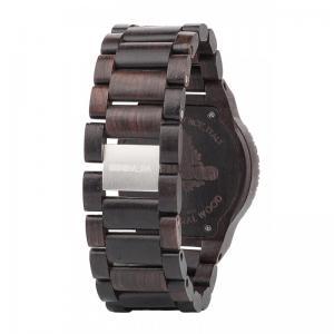 Kappa Black Wood Watch for Men - Ceas 100% din lemn lucrat manual2