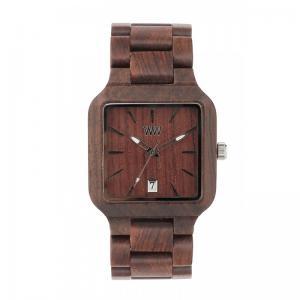 Metis Chocolate Wood Watch for Men - Ceas 100% din Lemn Lucrat Manual1