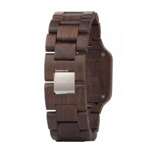 Metis Chocolate Wood Watch for Men - Ceas 100% din Lemn Lucrat Manual2