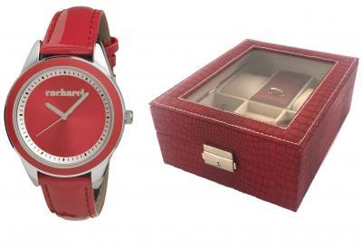 Ceas Red Monceau Cacharel & Cutie de ceasuri si bijuterii Borealy