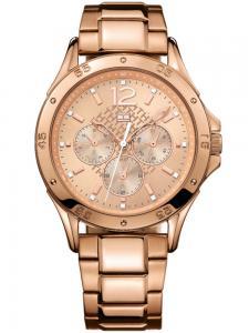 Tommy Hilfiger Rose Gold Bracelet Watch0