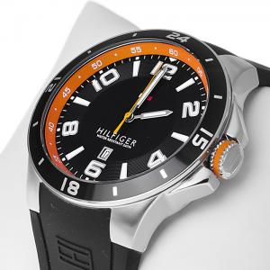 Ceas Tommy Hilfiger Black & Orange1