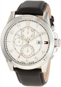 Ceas Tommy Hilfiger Brown Leather1