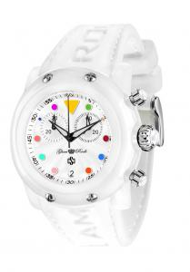 Ceas White Joy Glam Rock