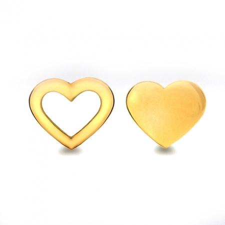 Cercei Aur 9 Kt Love