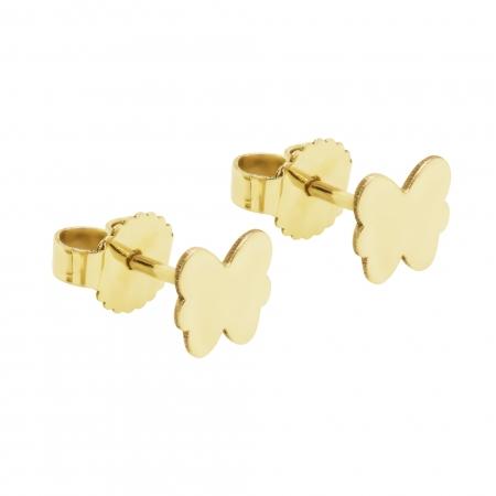Cercei aur galben 14k