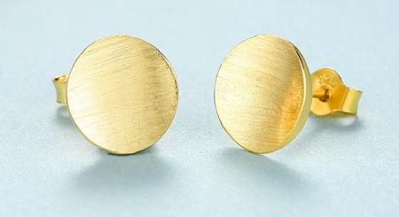 Cercei Borealy Argint 925 MagicJewelry, Gold Plated [1]
