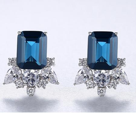 Cercei Lady Sapphire Blue Green2
