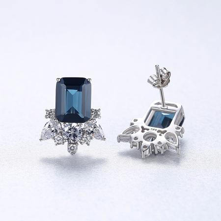 Cercei Lady Sapphire Blue Green4