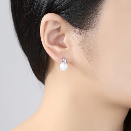 Cercei Borealy Perle Solitaire1