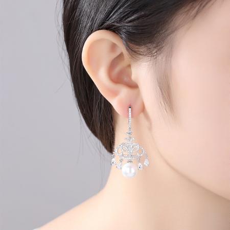 Cercei Perle Parisien Glamour1