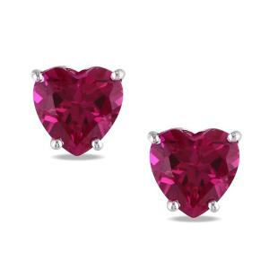 Cercei Borealy Sapphire Heart Red0