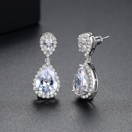 Cercei Bridal Drop Luxury by Borealy2