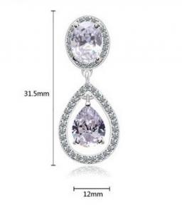 Cercei Diamond Drop Bride [2]