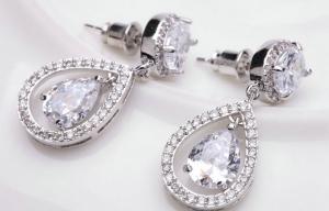 Cercei Diamond Drop Bride [1]