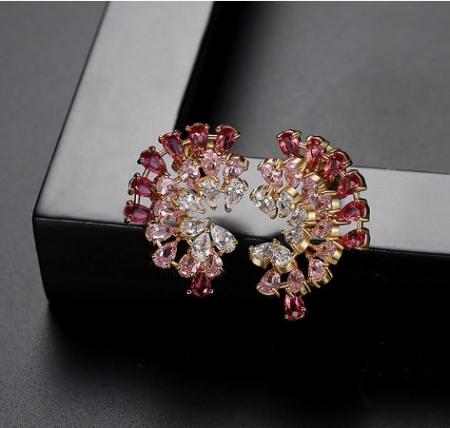 Cercei Luxury Evantai Red2