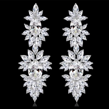 Cercei Mireasa Opulence Crystal3
