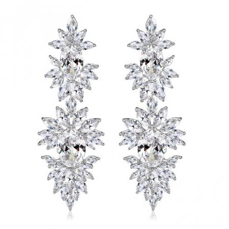 Cercei Mireasa Opulence Crystal0