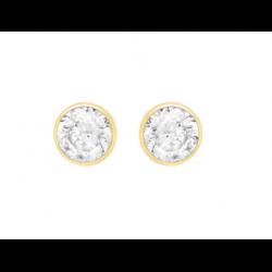 Cercei pentru Copii Borealy Aur Galben 9 K Pink Crystal0
