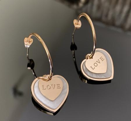Cercei Pure Love by Borealy, placati cu aur1