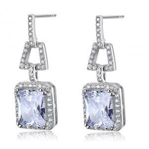 Cercei Borealy Argint 925 Simulated Diamonds 4 Carat1