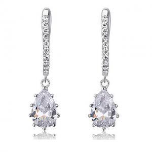 Cercei Borealy Argint 925 Diamonds 3 carate Aurora0