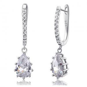 Cercei Borealy Argint 925 Diamonds 3 carate Aurora1