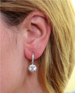 Cercei Borealy Argint 925 Diamond One [1]