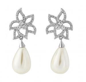 Cercei Borealy Classic Beauty Pear Pearl0